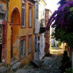 Arnavut kaldırımlı Taş Sokaklar
