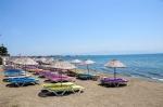 Akçay Plaj ve Deniz Genel Görünüm