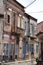 Ayvalık Sokakları ve Evler