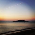 Avşa Adası Günbatımı Deniz Genel Görünümü