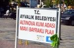 Altınova Kum Adası Mavi Bayraklı Plajı