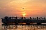 Avşa Adası İskele Günbatımı