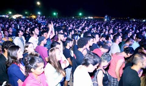 Rock Festivali Gen�leri Co�turdu