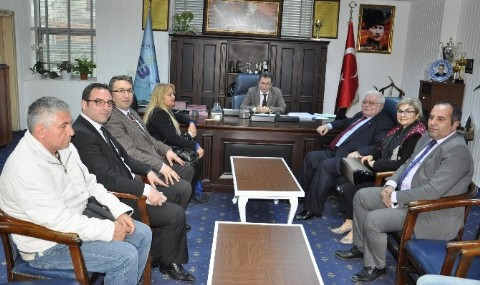 Kaz Da�� ve Madra Da�� Belediyeler Birli�i�nden Edremit Belediyesi�ne Ziyaret