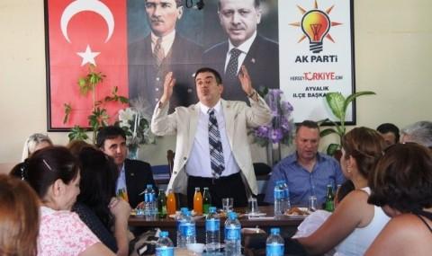 Milletvekili Ali Ayd�nl�o�lu, Torba Yasay� Anlatt�