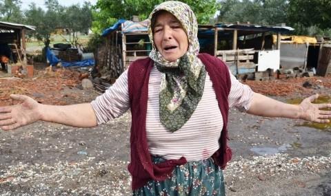 G�nen�deki Sel Ma�durlar�n�n Yard�m Feryad�