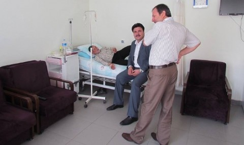 Ba�kan Ersoy�dan Hastane Ziyareti