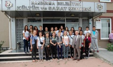 Danimarkal� ��renciler Band�rma�da