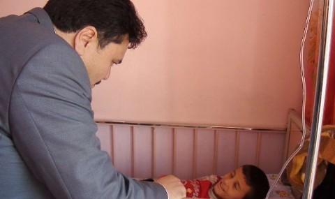 Havran�da Ba�kan Her Hafta Hasta Ziyaretine Gidiyor