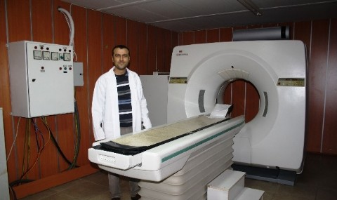 Ayval�k Devlet Hastanesi�nde Tomografi �ilesi