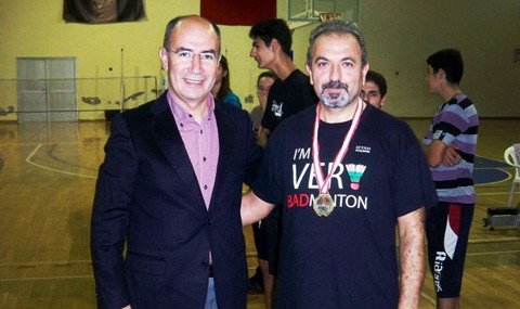 Ayval�k'ta Badminton Cumhuriyet Turnuvas� Ger�ekle�tirildi