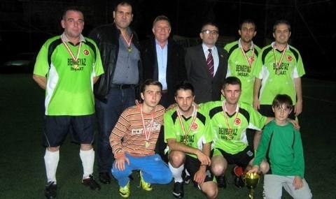 G�nen�de Futbol K�� Turnuvas� Heyecan�