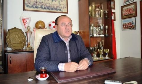 Ayval�kg�c� Belediyespor�a Yeni Kul�p Ba�kan�