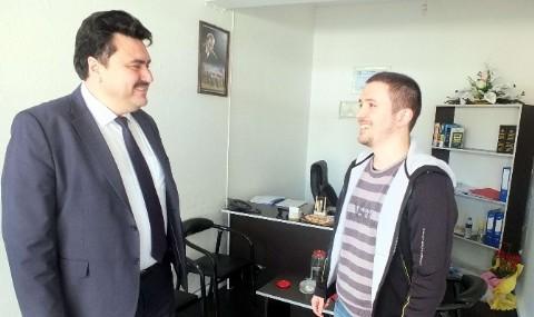 Ba�kan Ersoy: 'Yat�r�mlar�n�z� Havran�a Yap�n'