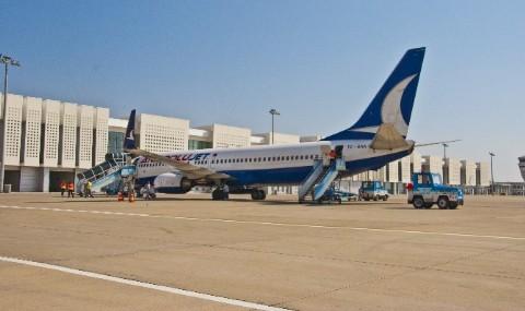 Koca Seyit Havaliman� Yolcu Say�s�n� �kiye Katlad�