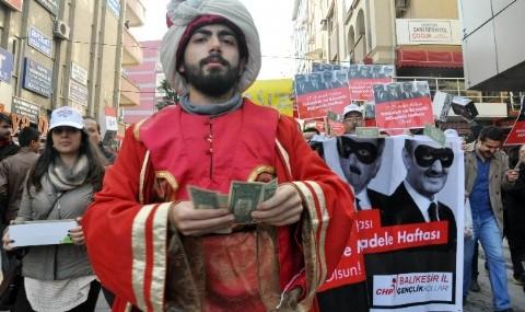 Bal�kesir CHP �l Te�kilat�ndan, 17 Aral�k S�recine Protesto