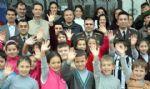 Komutanlar, ��retmenler G�n�n� K�y Okulunda Kutlad�