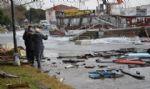 Lodos Erdek�te Bal�k�� Teknelerini Bat�rd�