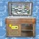 Assos Ahşap Balık Teşhir dolabı,Balık teşhir, Balık dolabı, teşhir dolabı, ahşap teşhir, balıkçı dolabı, balıkcı dolabı, balık dolabı, Balık teşhir