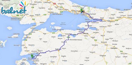 İstanbul'dan Cunda'ya Nasıl Gidilir?