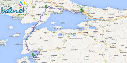 İstanbul Tekirdağ Üzerinden Cunda Nasıl Gidilir?