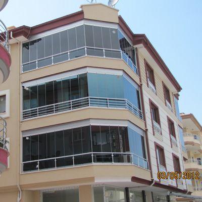 Renkli Katlanabilir Cam Balkon Pakcam Balkon Balikesir